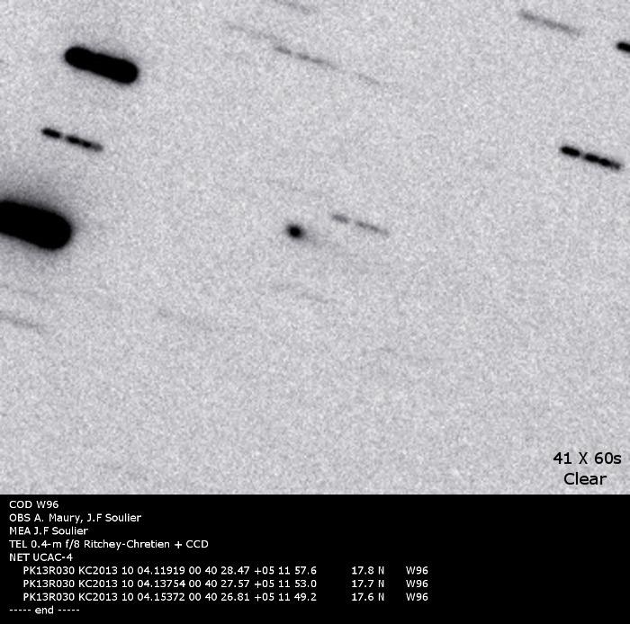 Российский астроном-любитель открыл новую комету P/2011 R3